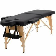 """Massage Table Massage Bed Spa Bed 73"""" Long Portable 2 Folding W/Carry Case Table"""