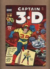 Captain 3-D #1 (SHARP!) Harvey Comics 1953 KIRBY DITKO Includes Glasses (c#16017