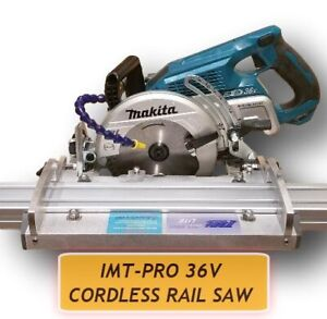 IMT-PRO IP511S Professional Cordless Wet cutting Rail Saw For Granite