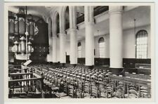 (53707) Foto AK Dokkum, Interieur N. H. Kerk, nach 1945