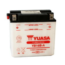 BATTERIA YUASA YB16B-A 12V/16AH Suzuki VS800 Intruder Dal 1992 in poi