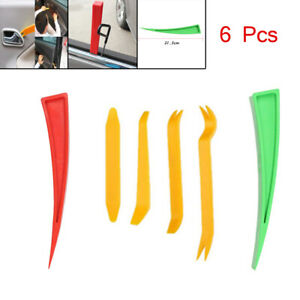 6PCS Car Truck Door Window Enlarger Wedge Dent Repair Panel Paint Universal Tool
