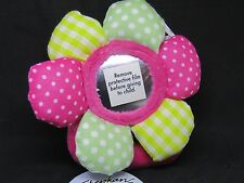STEPHAN BABY Multi-Color Plush Flower Rattle NEW