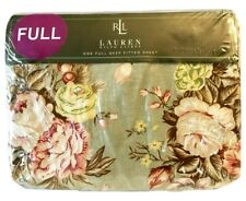 Vintage NIP Ralph Lauren Charlotte IV Full Fitted Sheet Country French Floral