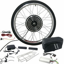 "26"" 48V 1000W Front Wheel Electric Bicycle Motor Conversion Kit E-Bike DIY"