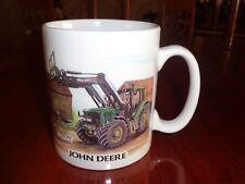 Norfolk China Ceramic Mug JOHN DEERE FRONT LOADER By SUE PODBERY