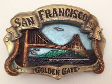 Vintage Belt Buckle San Francisco Golden Gate Made in USA Great American Buckle