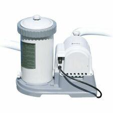 Intex 28634 9463l/h Pompa Filtro per Piscina - Grigia/Nera
