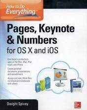 How to Do Everything: Pages, Keynote & Numbers for OS X and iOS-ExLibrary