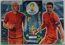 Panini FIFA World Cup Brasil 2014 *WM 2014* Double Trouble* Robben/van Persie