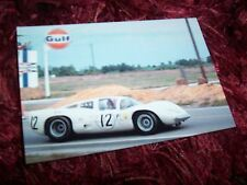 Photo  / Photograph   J Bonnier / P Hill CHAPARRAL 2D   12 h de Sebring 1966 //