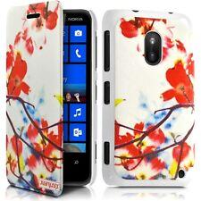 Coque Etui à rabat porte-carte motif KJ12 pour Nokia Lumia 620 + Film de protect