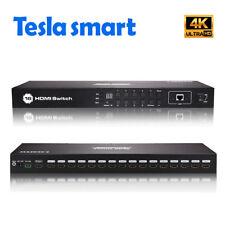 Free DHL16 Port HDMI Switch with Rack Mount Video Audio 3840*2160@30Hz  IR