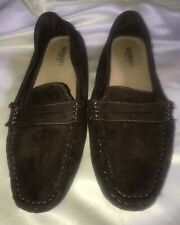 3740394cbb4 Old Navy women s Brown Textile size 7 Penny Loafers Moccasins flats Nobby  Bottom