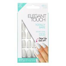 Elegant Touch clavos falsos Oval-totalmente desnudo corto Oval 005 + Pegamento (24 Pack)