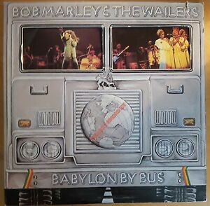 BOB MARLEY/WAILERS-BABYLON BY BUS-US ISSUE-2 x LP SET ON ISLAND RECORDS-1978-VGC