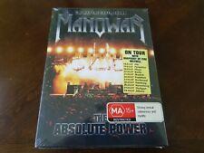 Manowar - Live at Earthshaker Fest 2005 (DVD, 2006, 2-Disc Set, PAL FOR EU/UK)