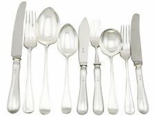 Sterling Silver Canteen of Cutlery for 6 Persons by William Yates Ltd 54 pieces