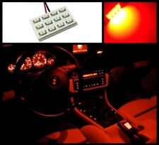 1 Red 12 LED interior dome map light SMD panels Xenon bubs HID lamp #A3x1
