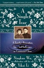 A SINGLE TEAR - NEW PAPERBACK BOOK
