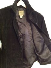 Women's AMI Med Black Suede Blazer