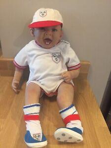 Ashton Drake/Bonnie Chyle Boy Football Dressed Doll