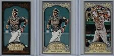 2012 Topps Gypsy Queen Mini #85 Adam Jones Lot of 3  Black Border & VAR NM/MT !