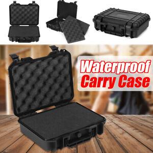 Waterproof Hard Carry Tool Case Bag Storage Box Camera Photography & Sponge AU ❥