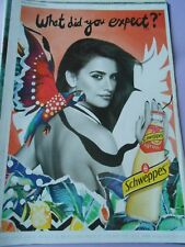 Publicté Advertising 2016  Schweppes Penélope Cruz What did you expect