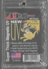 Pro-Mold Magnetic One-Touch Trading Card Holder 180pt Super Thick (New!)