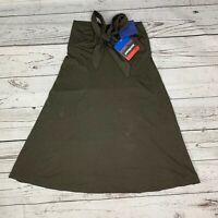 NWT Patagonia Kamala Espresso Slim Fit 3-in-1 Super Skirt Womens Size Medium