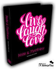 Wedding Planner/ Live Laugh Love /Diary/Organiser/Engagement Present / Gift idea