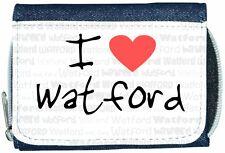 I Love Heart Watford Denim Wallet