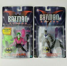 Batman Beyond Thunderwhip Batman w/ Stun Flare & The Jokerz w/ Hover-Cycle 1999