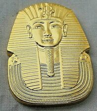 Egyptian Pharaoh Gold Coin Ming Dynasty Hieroglyphics King Tutankhamun Tomb USA