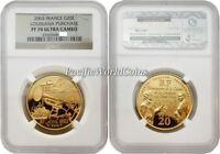 France 2003 Louisiana Purchase 20 Euro Gold NGC PF70 ULTRA CAMEO