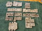 LOT OF 10 VINTAGE LEAD TOY Soldier MOLDS - Cowboys Indians Other Foundry
