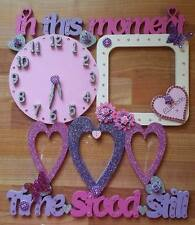 In This Moment Time Stood Still PERSONALISED Picture Frame All Colours