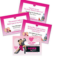 Love Song Lyric Hen Party Game Classy Hen Do Activity Music Lines Sing Hen Night