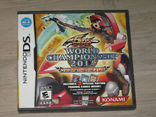 Yugioh 5D's World Championship 2011 Over the Nexus Nintendo DS Case+Inserts ONLY