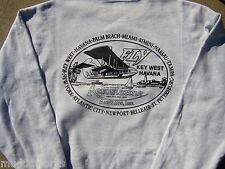Aeromarine sweatshirt,Key West,Havana Cuba airlines airways flying boats