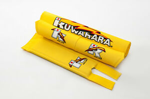 Kuwahara Re-issued BMX V-Bar Pad Set in Yellow