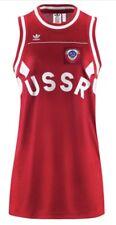 adidas Originals Russland USSR UdSSR Damen Trikot Kleid Retro Gr. S NEU /UVP 85€