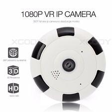 Mini Wireless 360 Degree 1080P Panoramic wifi IP Camera Fisheye Night Vision ET