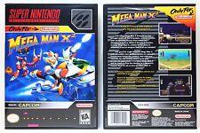 Mega Man X2 - Super Nintendo SNES Custom Case *NO GAME*