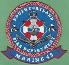 SOUTH PORTLAND MAINE FIRE DEPARTMENT MARINE 48 FIRE BOAT PATCH