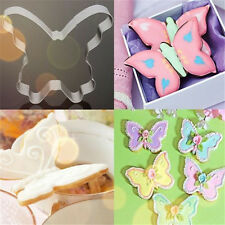 Butterfly Stainless Steel Chocolate Cookie Cutter Fondant Cake DIY Mold ☆