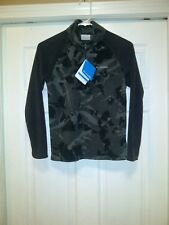 Columbia Glacial II Print Fleece Half Zip Youth Med New With Tags FREE SHIPPING