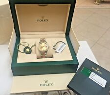 Rolex Datejust 178383 18k Gold & SS, Diamond 31mm