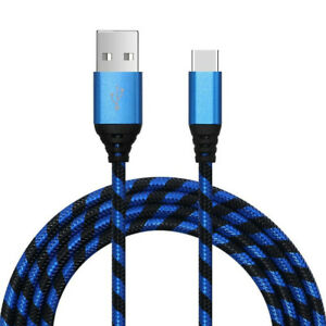 USB-C Type C Fast Charging & Data Sync Cable for Samsung Galaxy Note 8 9 S9 S10+